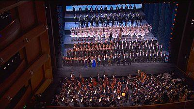 Saint-Pétersbourg dévoile son nouveau théâtre Mariinsky