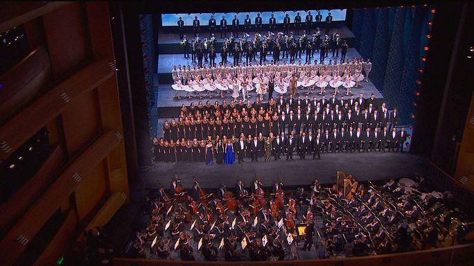 Kirche der Musik: Opernhaus Mariinski Zwei in St. Petersburg eröffnet
