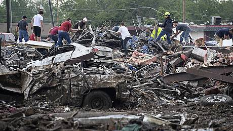 US: Major disaster declared in Oklahoma after tornado leaves 91 dead