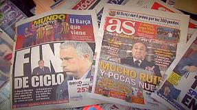 sport: Mixed Madrid feelings for Mourinho