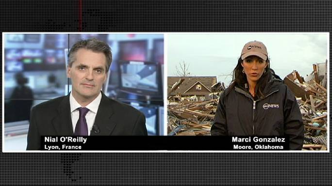 'Devastation and sadness' in tornado-weary suburb of Moore, Oklahoma