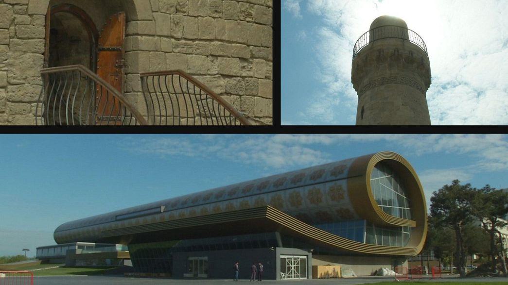Баку - город контрастов