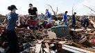 Volunteers travel to help Oklahoma clean-up after tornado