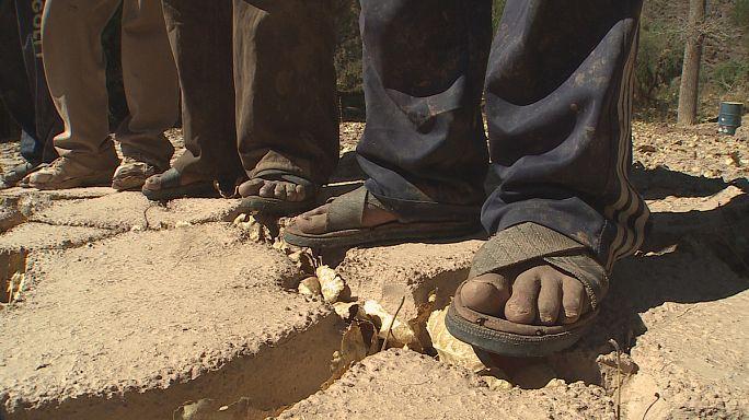 Holdbéli tájat hagyott hátra a bolíviai árhullám