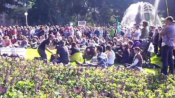 Weltweit Proteste gegen Gentechnik-Konzern Monsanto
