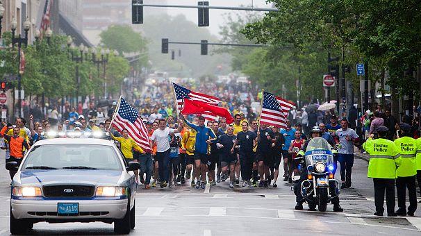 """Boston-Marathon: """"Wir laufen bis zum Ende"""""""