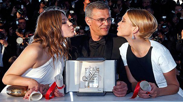 """""""La vie d'Adèle"""" triumphiert in Cannes"""