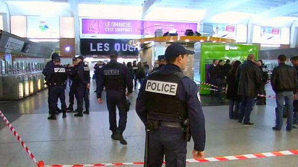 Detenido el presunto autor del ataque a un militar en París