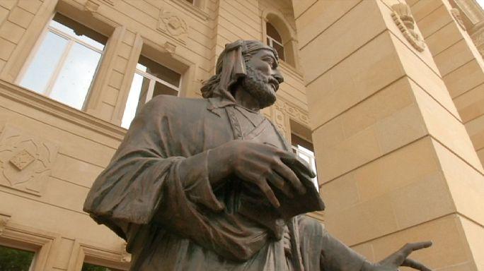 Az azeri város, Gandzsa történelmet ír