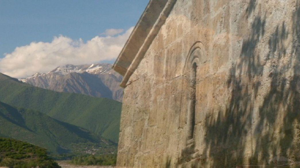 Шеки - жемчужина Кавказа: шелк, чай и дворцы