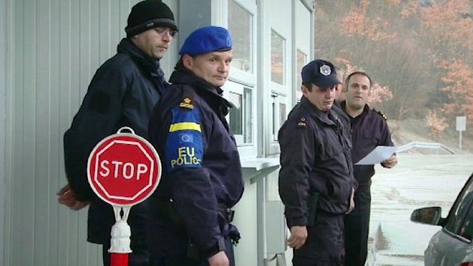 Csempészek elleni küzdelem a koszovói határvidéken