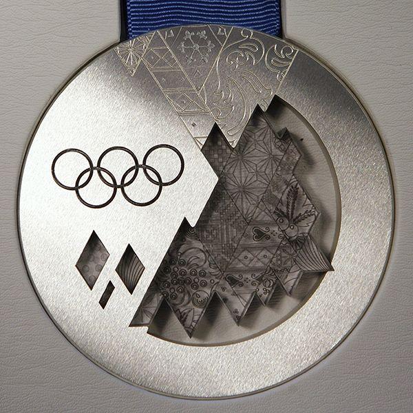 Серебряную медаль олимпийских играх