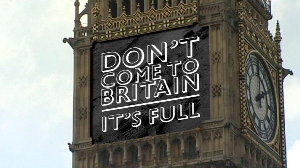 Londra e l'immigrazione fra pubblicità shock e rebus politico