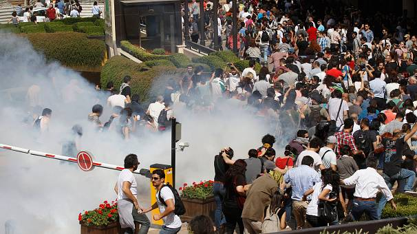 Turkey protests spread from Istanbul to Ankara
