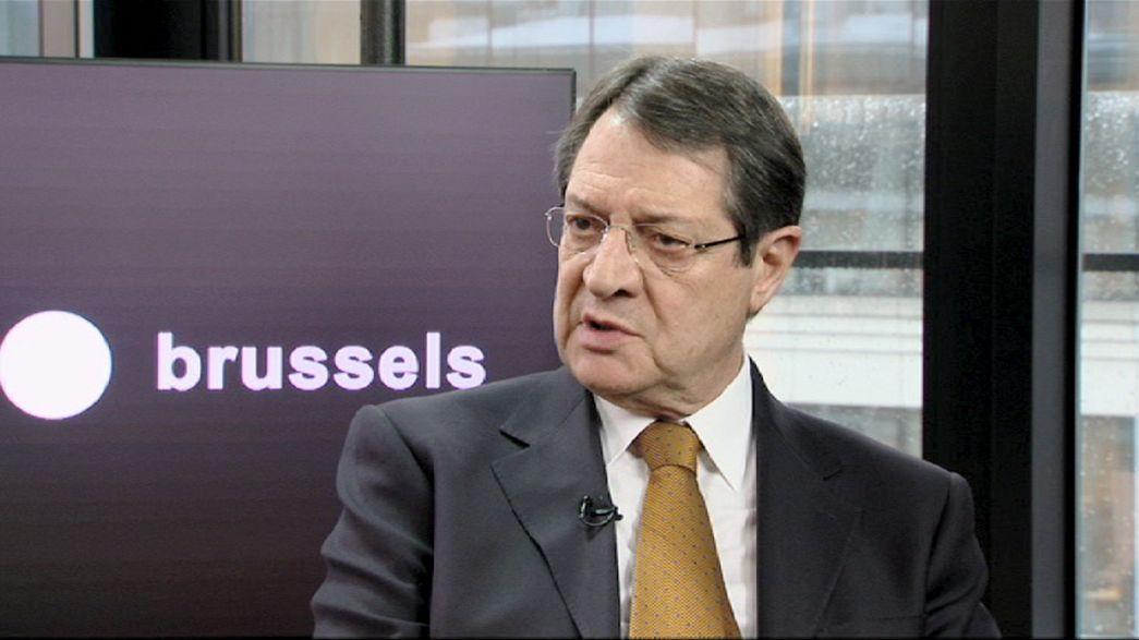 """Anastasiades: """"Chipre dice no al chantaje"""""""