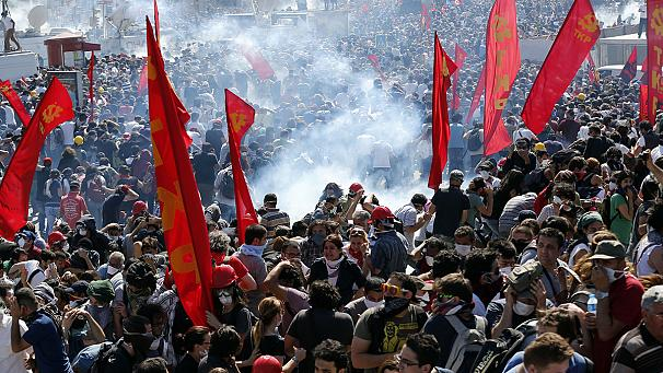 Turkish solidarity protests spring up across Europe