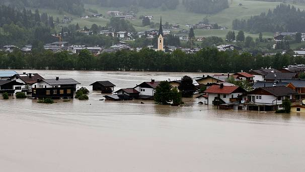 Flooding in Czech Republic, Germany, Austria