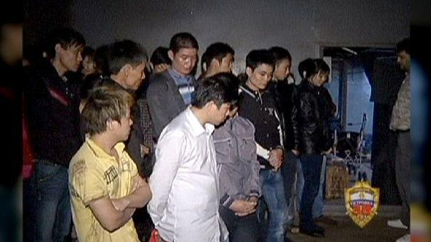 Russian police uncover subterranean migrant city