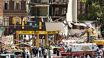 Buildings collapse in Philadelphia people trapped and injured