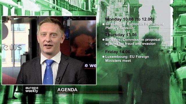 برنامج يوروب ويكلي في الاسبوع الاول من شهر حزيران يونيو.