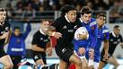 All Blacks draw first blood against France