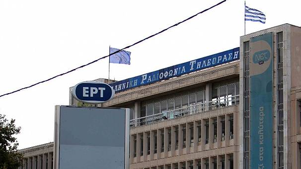 Shock in Greece at imminent closure of public broadcaster ERT