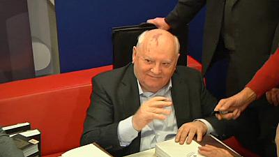 Mikhail Gorbachev is admitted to hospital