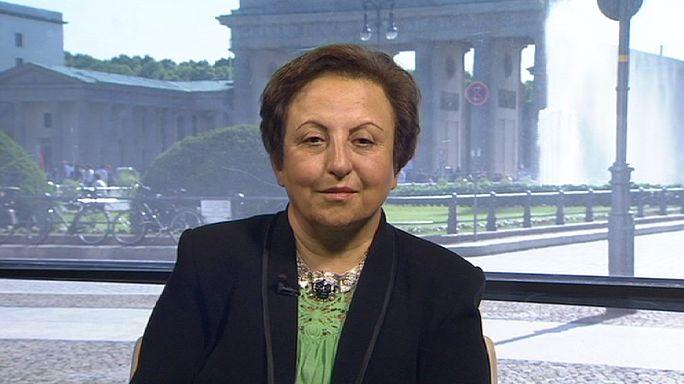 Iranian elections - Nobel Peace Prize winner Shirin Ebadi talks to euronews