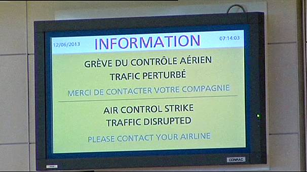 More flights cancelled as French air traffic control strike intensifies