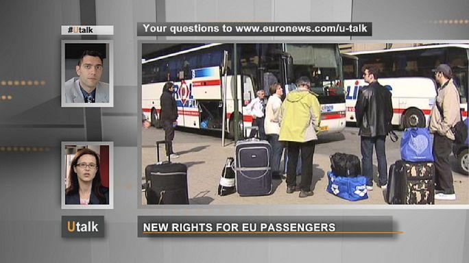 Az európai utasok új jogai