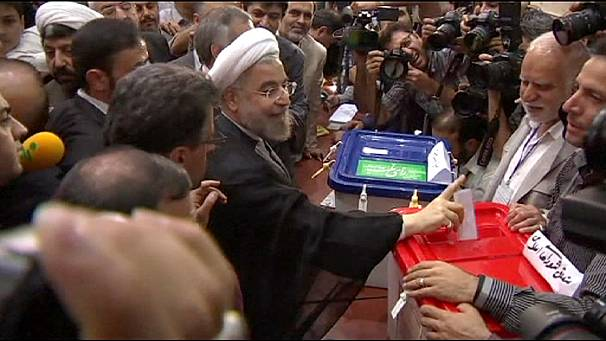 Iran's presidential candidates cast their votes