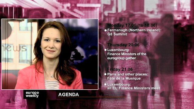 برنامج يوروب ويكلي في الاسبوع الثاني من شهر حزيران يونيو