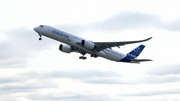 Battesimo dell'aria per il nuovo Airbus A350