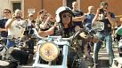 Bikers' blessing from the Pope