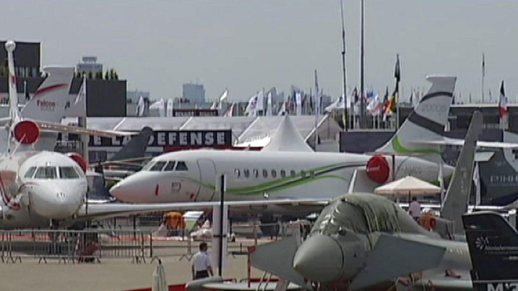 Havacılık devleri Paris'te buluşuyor
