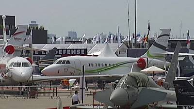 Luftfahrtmesse beginnt in Le Bourget