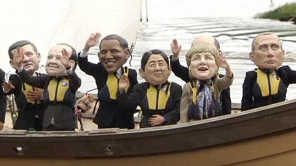 Sommet du G8: des protestataires peu nombreux