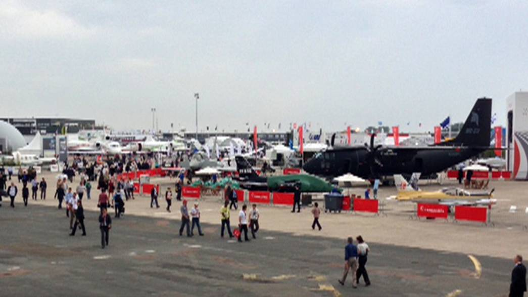 Le Bourget; world number one