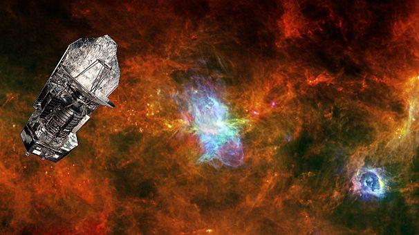 Mis à la retraite, le télescope Herschel est parti pour son dernier voyage