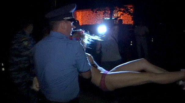 Le président du Bélarus, nouvelle cible des Femen