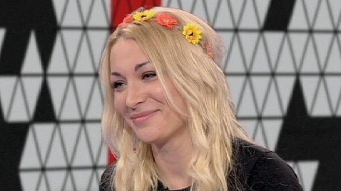 """Femen : """"ma poitrine, c'est mon arme politique"""""""