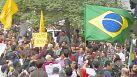 Des jeunes de la classe moyenne manifestent à São Paulo
