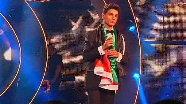 """El nuevo """"Ídolo Árabe"""" es palestino"""