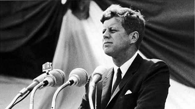 """Rétromachine : """"Ich Bin ein Berliner"""" J.F.Kennedy"""