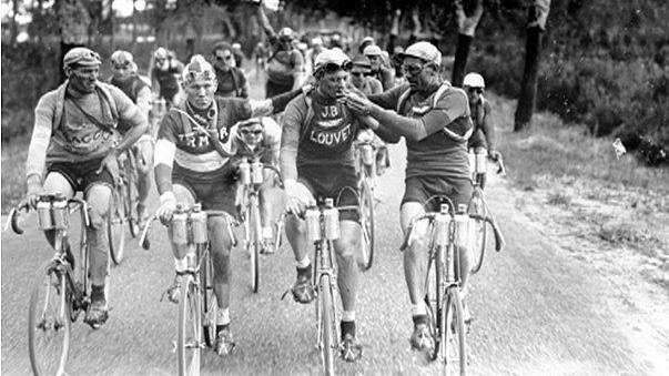 rétromachine : le Tour de France commence
