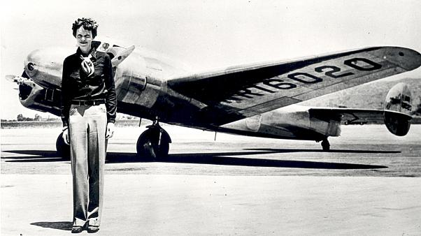 Rétromachine : disparition de l'aviatrice Amelia Earhart