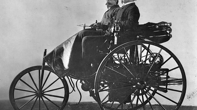 3rd July: Karl Benz releases the first car