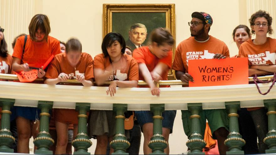 11-hour attempt to block abortion bill ends in Texas Senate chaos