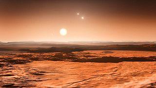 Three Planets in Habitable Zone