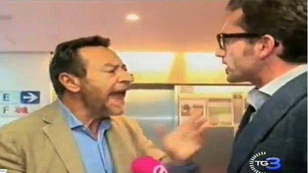 Un député européen agresse un journaliste